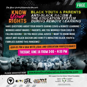 Know Your Rights - Anti-Black Racism & Education